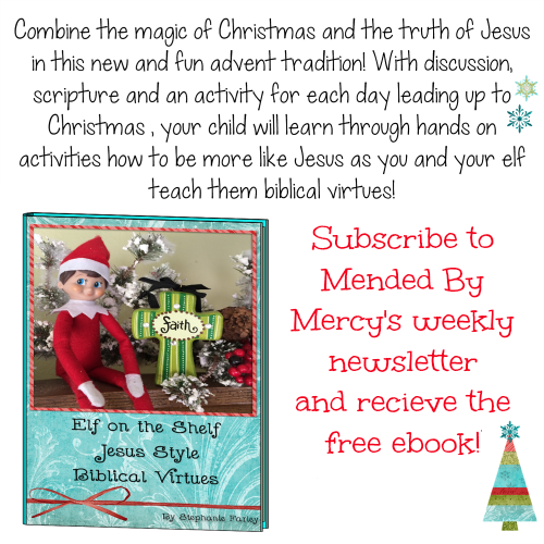 Elf on the Shelf Jesus Style Free Ebook and Resources - Mended By Mercy