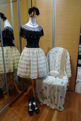 Black & Pearls Classic Lolita