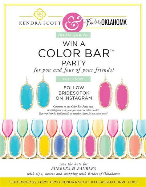 Kendra Scott Color Bar Party Giveaway!