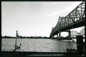 Under the bridge . Morgan City , Louisiana.USA.2004.