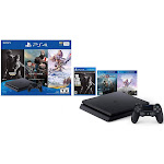 Sony PlayStation 4 - 1 TB - Jet Black - includes The Last of Us Remastered, Horizon Zero Dawn, God of War