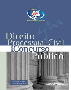Matérias para Concursos Públicos-DIREITO PROCESSUAL CIVIL