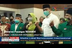 DPC PPP Kabupaten Deklarasikan Paslon Bupati/Wakil Bupati Sukabumi 2020 Lebih Awal