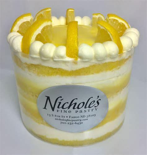 Lemon Curd Layer Cake   Nichole's Fine Pastry
