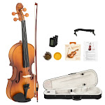 Glarry GV301 4/4 Full Size Acoustic Violin Outfit