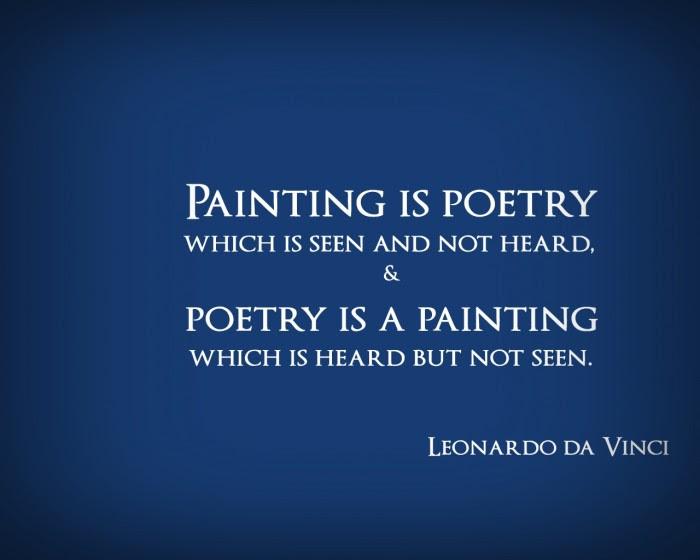 Quotes About Art Leonardo Da Vinci 26 Quotes