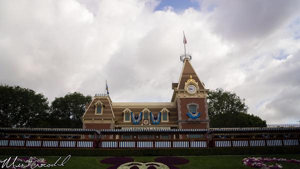 Disneyland Resort, Disneyland, Disneyland60, Diamond, Celebration, Bunting, Flag, Banner, Decor, Decoration, Main Street U.S.A.