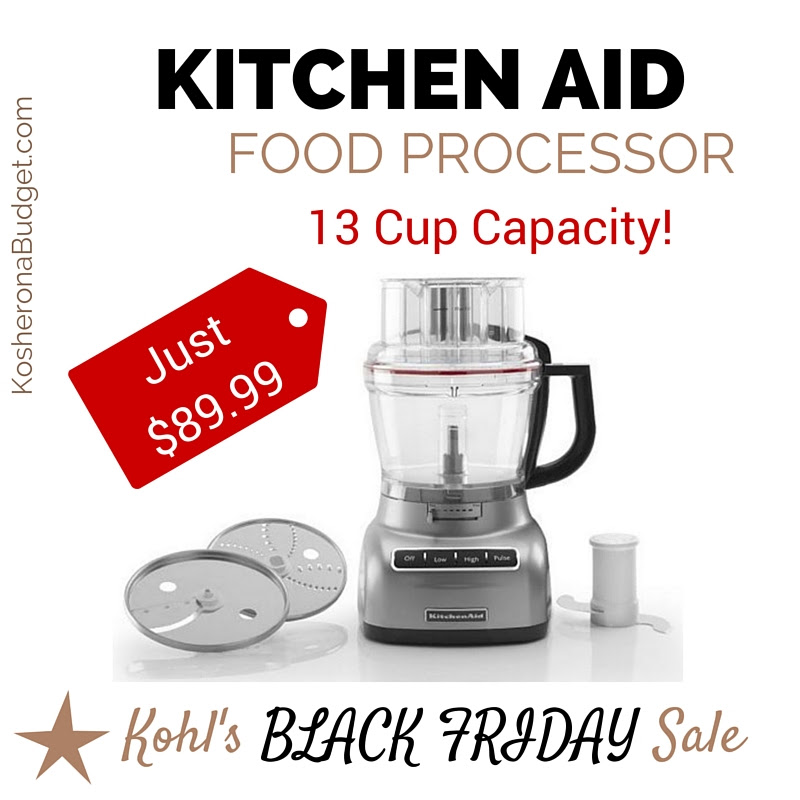Kohl's Black Friday Deal | 13-Cup Kitchen Aid Food ...