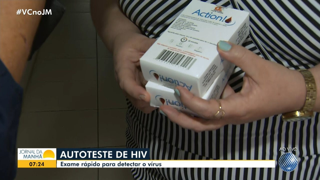 Resultado de imagem para Saúde: saiba como ter acesso ao autoteste para detecção do vírus HIV