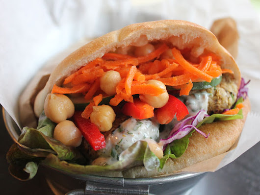 Eat this: The 'Faux-lafel' from Eat-A-Pita