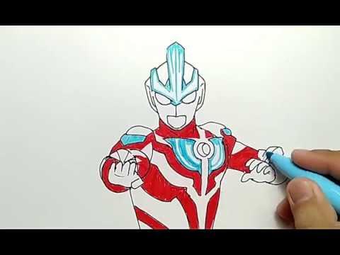 Hebat Banget Cara Menggambar Ultraman Ginga Dengan Mudah How To