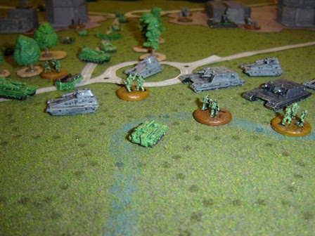 Swabian Brigade counterattack out of Berlin