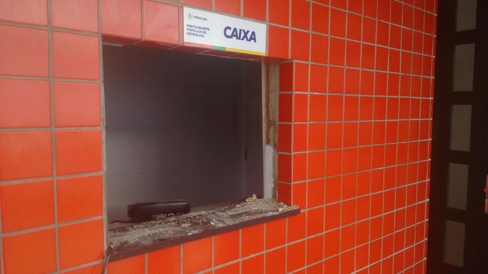 Restaurante Popular de Petrolina é arrombado (Foto: Divulgação/PMP)