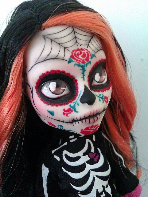 15 Muñecas De Monster High Transformadas En Hermosas Catrinas
