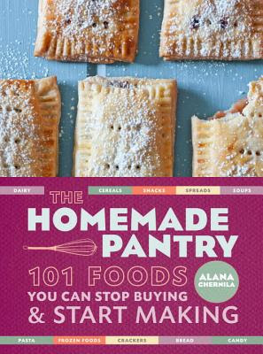 the homemade pantry cookbook cover