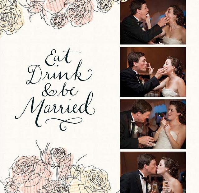 watercolor wedding photobook for Shutterfly3 by samlovesherdog, via Flickr