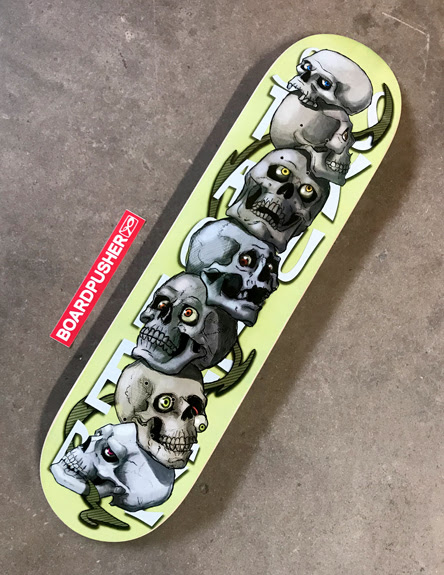 "Featured Deck of the Day: ""Stacked Skullz"" by Werner Hoefner 