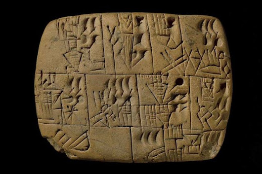 5,000-year-old pay stub shows that ancient workers were paid in beer