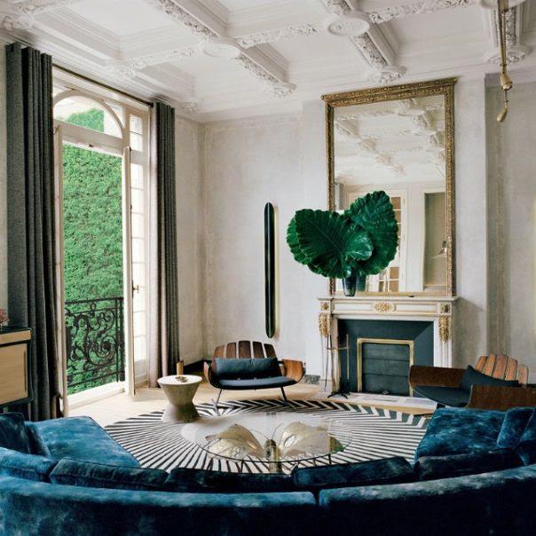Home Decor Trends 2017: Get a Pop of Color with Dusky Blue ...