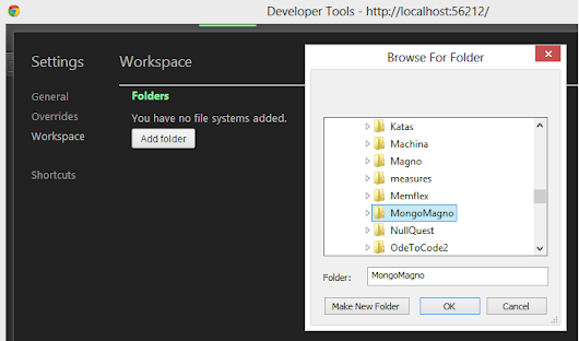 Chrome Workspaces: Edit Source From The Chrome Dev Tools