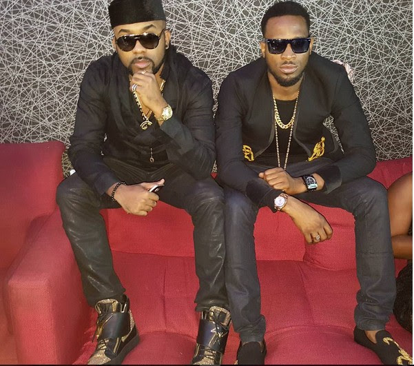 D'banj And Banky W Stylish In Coordinated Black Outfits