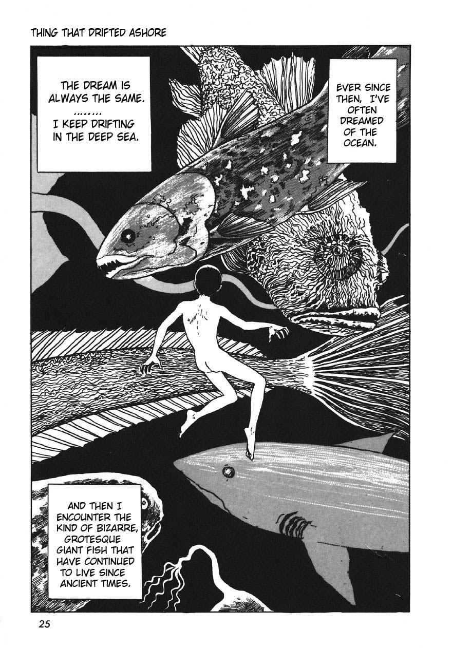 Junji Ito - Thing That Drifted Ashore 7