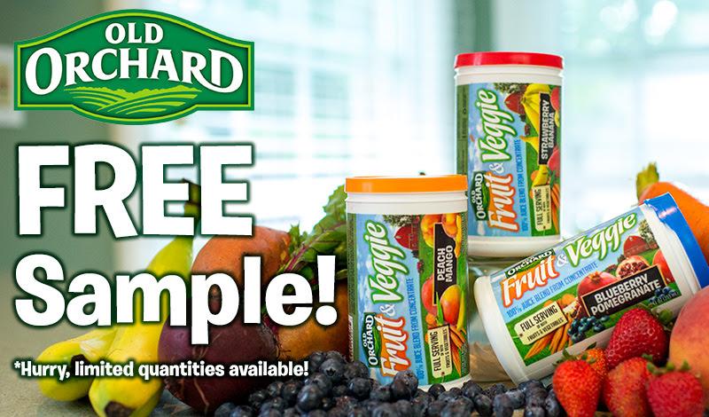 Old Orchard Fruit & Veggie - Free Sample Offer