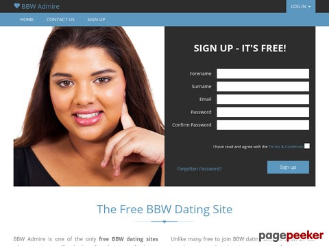Bbw nur dating-sites