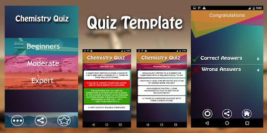 Quiz App Template - Android App Source Code