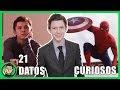 21 Curiosidades Que NO SABIAS Sobre Tom Holland (#SpidermanHomecoming)