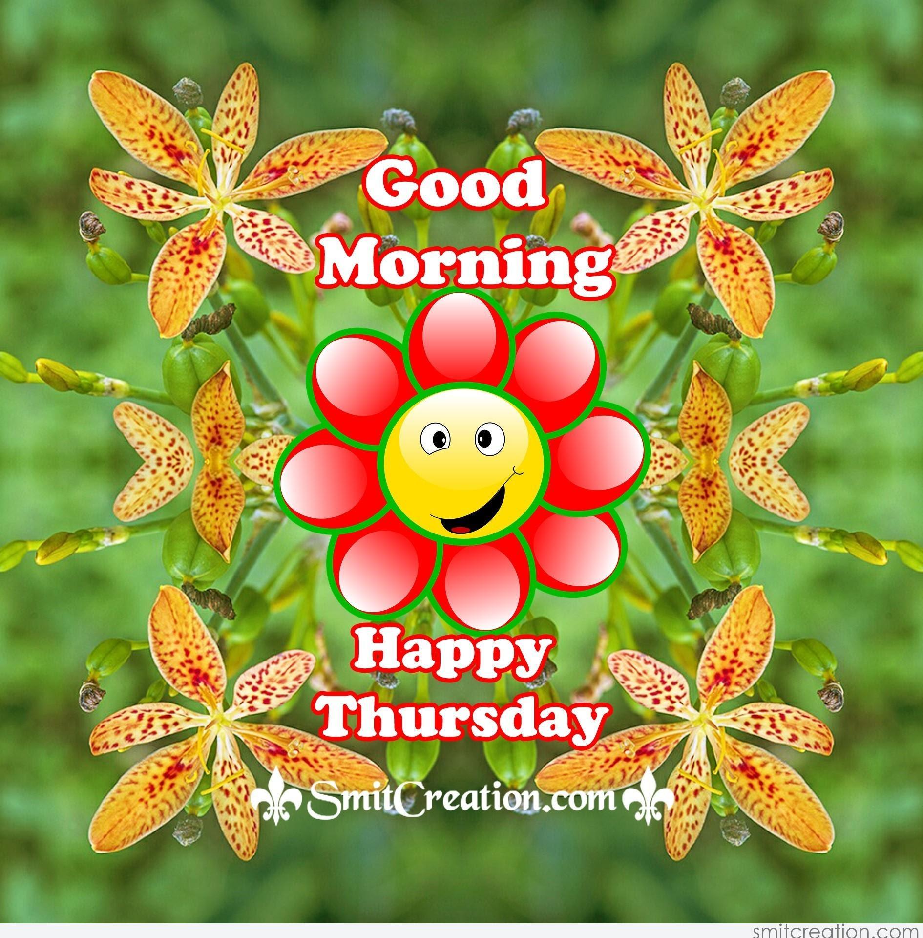 Good Morning Happy Thursday - SmitCreation.com