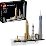 LEGO Architecture 21028 New York City 598 Piece Building Kit