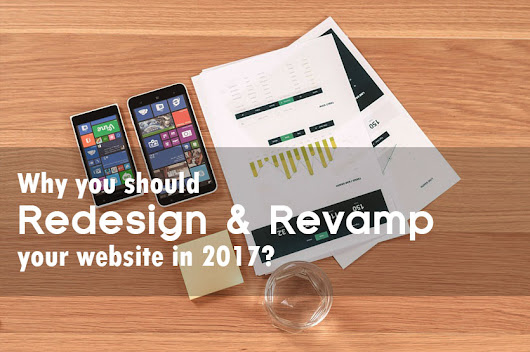 Why you should redesign and revamp your website in 2017? - Hoopstudio Technologies