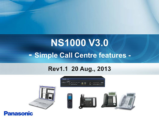 NS1000 V3.0 - Simple Call Centre features - Rev1.1 20 Aug., 2013