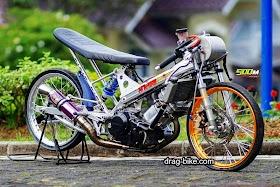 Sketsa Motor Drag Jupiter Z