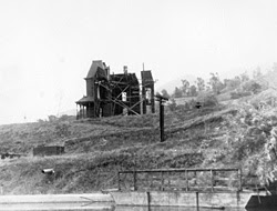 Psycho House set circa 1960