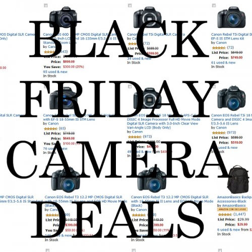 Black Friday Camera Deals: Save Hundreds on DSLRs, Lenses, and Accessories