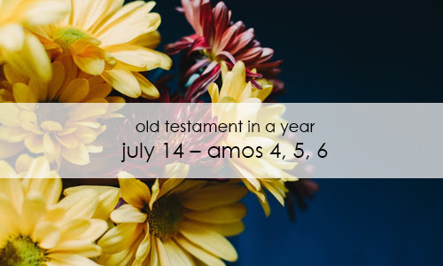Old Testament In a Year: July 14 – Amos 4, 5, 6