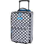 """Fortnite 20"""" Kids Carry on Suitcase - Black/White Check, Kids Unisex, Multicolored"""