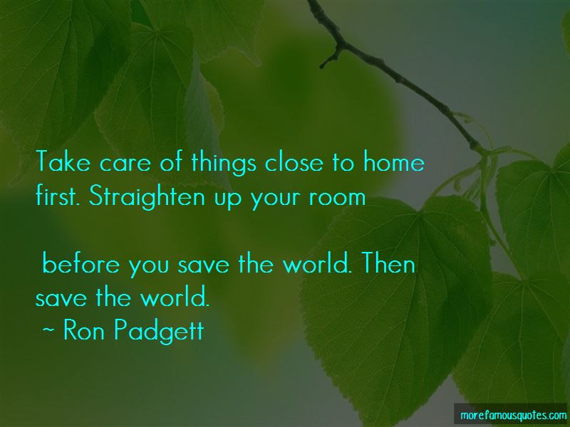 Ron Padgett Quotes Top 2 Famous Quotes By Ron Padgett