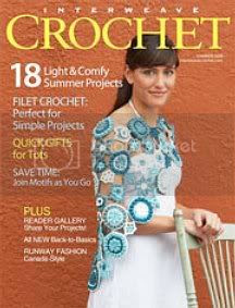 Lily Chin crochet dress Interweave crochet summer 2008
