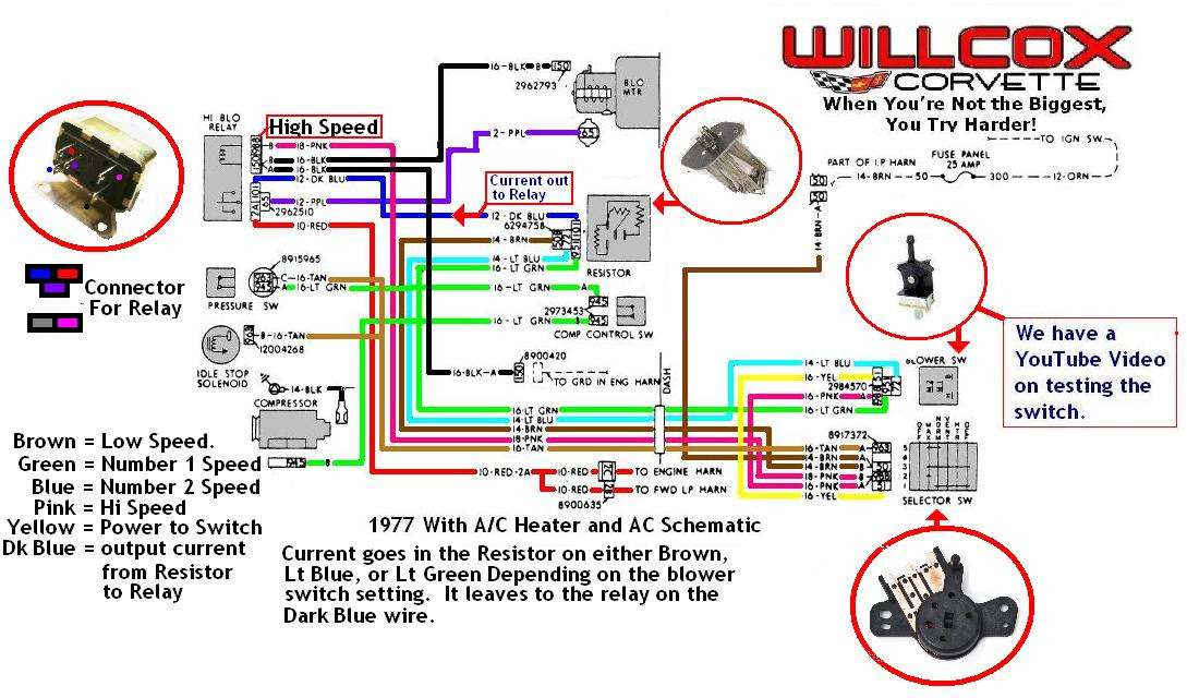 80 Corvette Dash Wiring Diagram