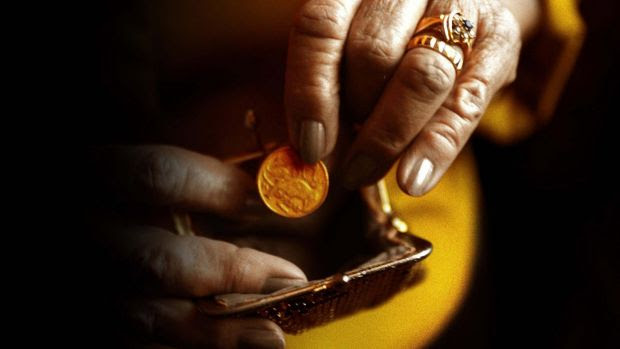 One-third of Australian pensioners live in poverty, according to a report by the OECD,