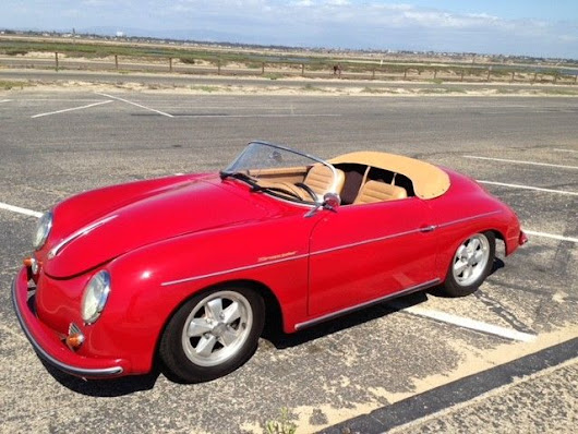 fast 1957 Porsche 356 Speedster Replica for sale