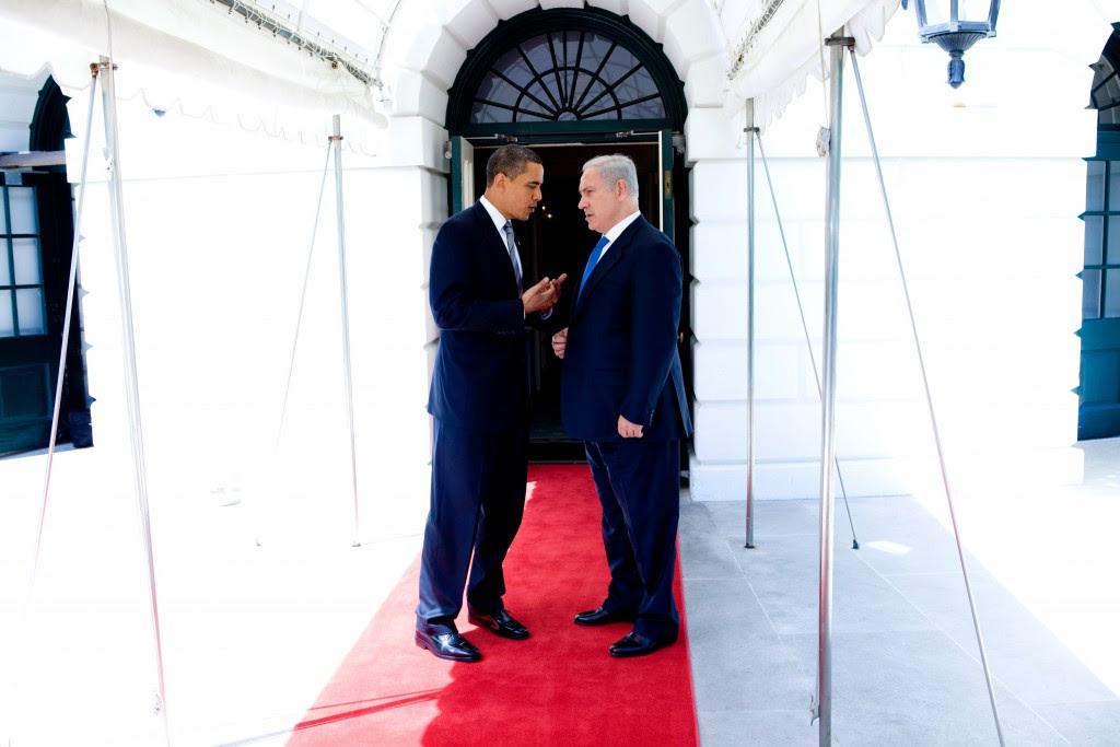Obama and Netanyahu, May 2009. Photo: Lawrence Jackson / White House