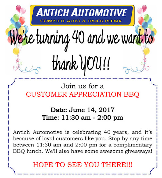 Online Specials - Antich Automotive