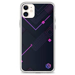 Purple Circuits iPhone Case - iPhone 11