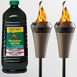 Tiki Brand 2 Island King Torches with 100oz BF Bottle