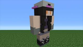 Minecraft Tutorial: How To Make A HeyImBee Statue ...