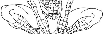Super Hero Coloring Book Pages